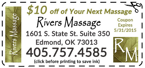 Edmond OK Massage Coupon
